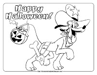halloween coloring pages pluto