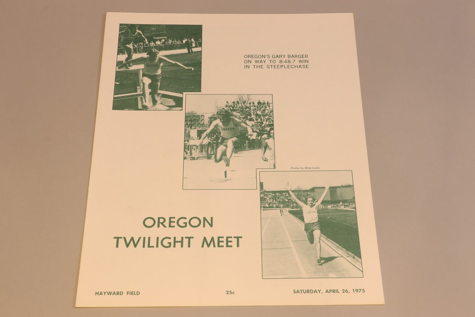 1975 Twilight Meet Program