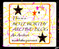 Noteworthy Archive Blog Award