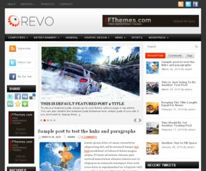 Revo WordPress Theme