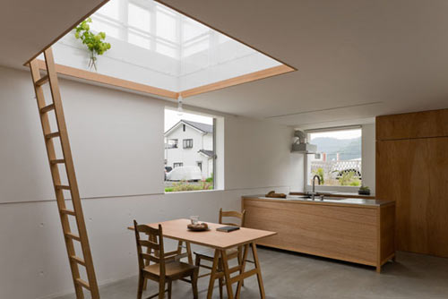 Casa inspirada en un invernadero de yo shimada blog - Invernadero para casa ...