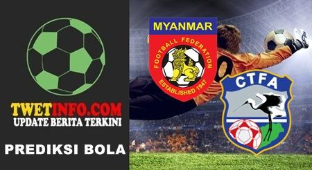 Prediksi Myanmar vs Chinese Taipei, Womens 22-09-2015