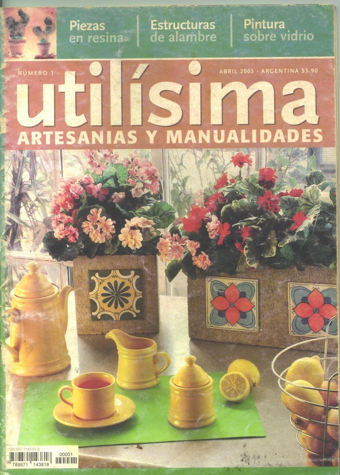 Revistas de manualidades gratis utilisima n 1 for Utilisima decoracion de interiores