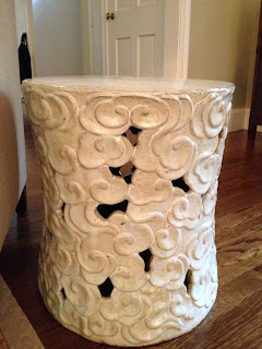 Living It At Home: Finally-The Cloud Stool Is Now Mine!