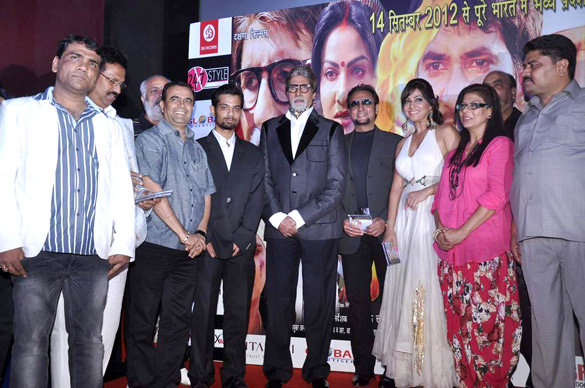 Amitabh Bachchan unveil the music of 'Ganga Devi'