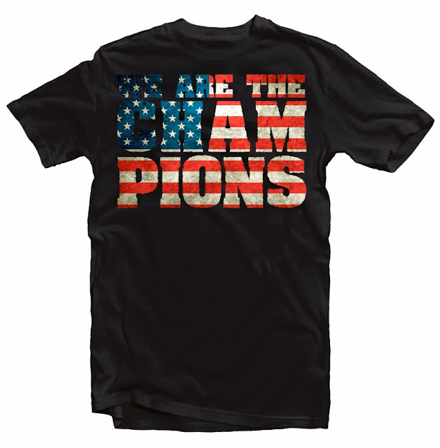 USA tshirt soccer