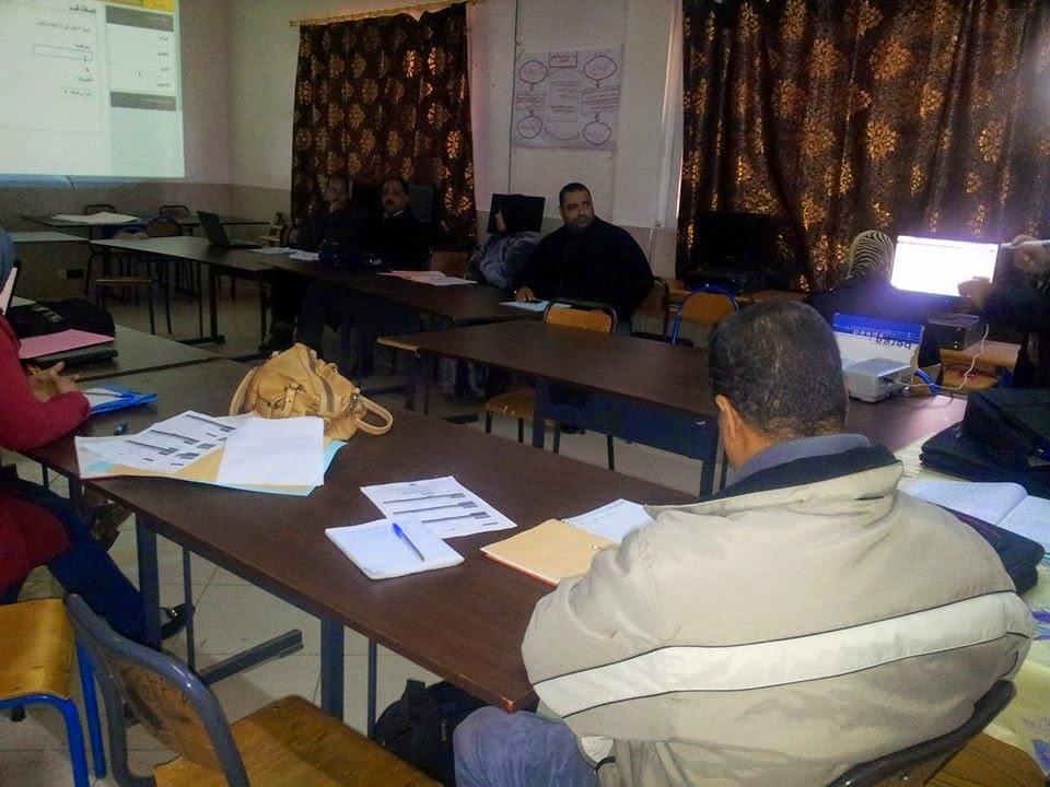 لقاء تكويني لفائدة الجمعيات العاملة في إطار محاربة الأمية وما بعد الأمية والتربية غير النظامية