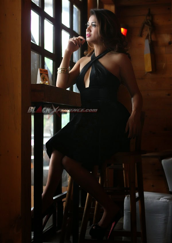 Sendy Mamahit BX Babes Photoshoot Model Black Xperience