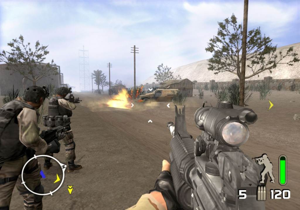 Computer Games For Free : Delta force pc game free download full