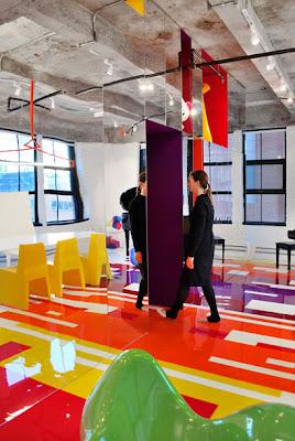 diseño loft multicolor