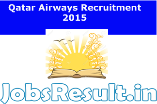 Qatar Airways Recruitment 2015