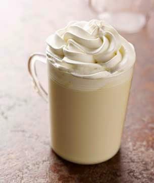 white hote chocolate