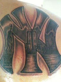 New York Yankees Tattoo Design Photo Gallery - New York Yankees Tattoo Ideas
