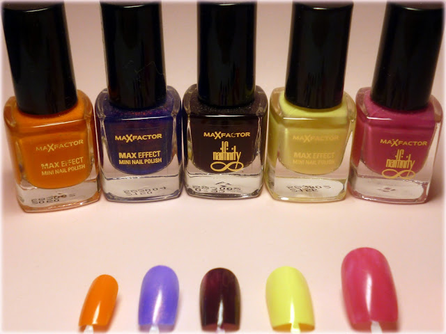 MaxFactor Mini Nail Polishes