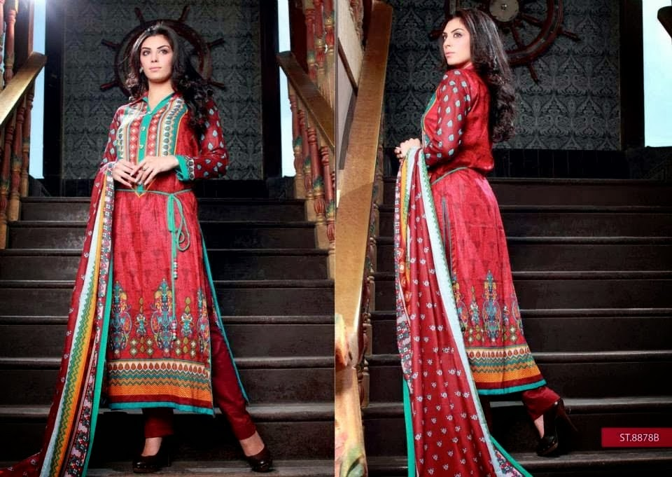 Fully Printed Lawn Collection