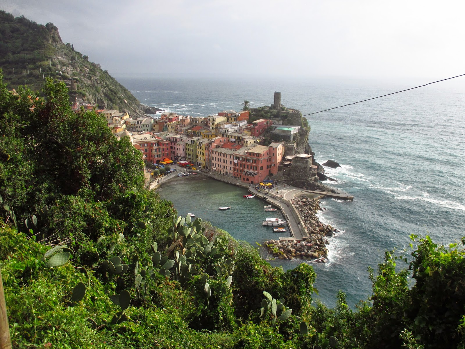 Vernazza Italian seaside town