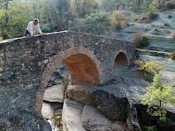 L'amic Salvador al Pont del Gatus o del Molí dels Sords