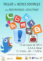 14/mayo. Taller de Redes Sociales. Béjar