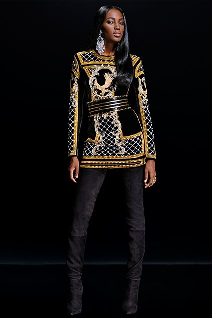 The Balmain x H&M Collab Lookbook