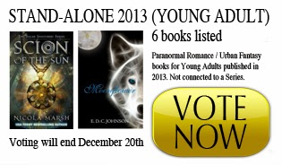 http://www.paranormalcravings.com/best-of-2013-stand-alone-ya/