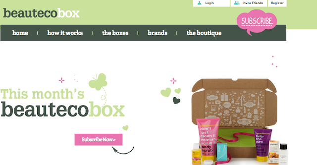 Beauteco box website