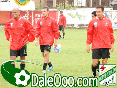 Oriente Petrolero - Francisco Argüello, Mariano Brau, Gualberto Mojica - Club Oriente Petrolero