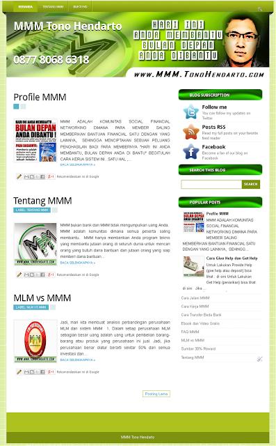 Contoh Website Sederhana