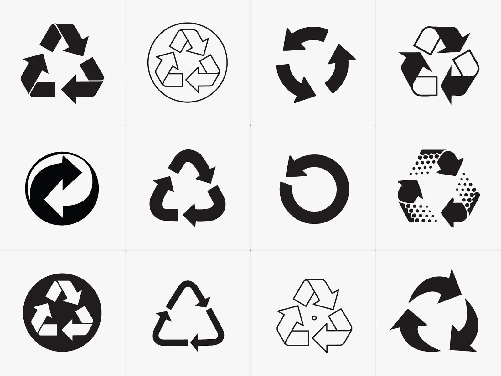 Sadis Art Blog The Recycling Symbol