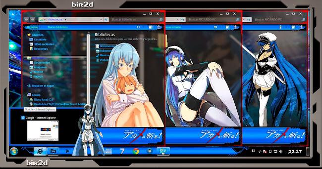 Esdese / Esdeath / Akame Ga Kill [Windows7] 4