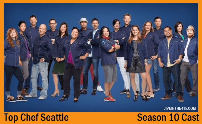 Top Chef Seattle Season 10 Cast