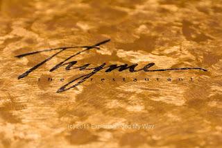 Thyme Menu Logo
