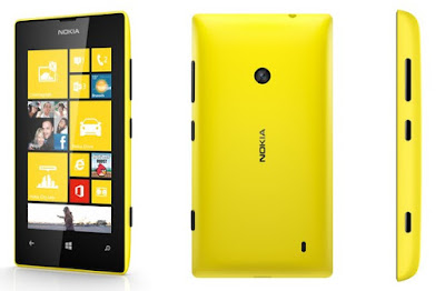 my first smartphone lumia 520