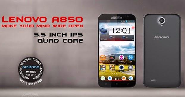 Harga Lenovo A850