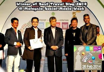 I'm The Winner - Best Travel Blog 2014 - MSMW 2014