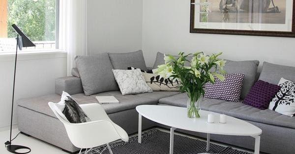Boho deco chic inspiraci n quiero un sofa gris for Sofa gris y blanco
