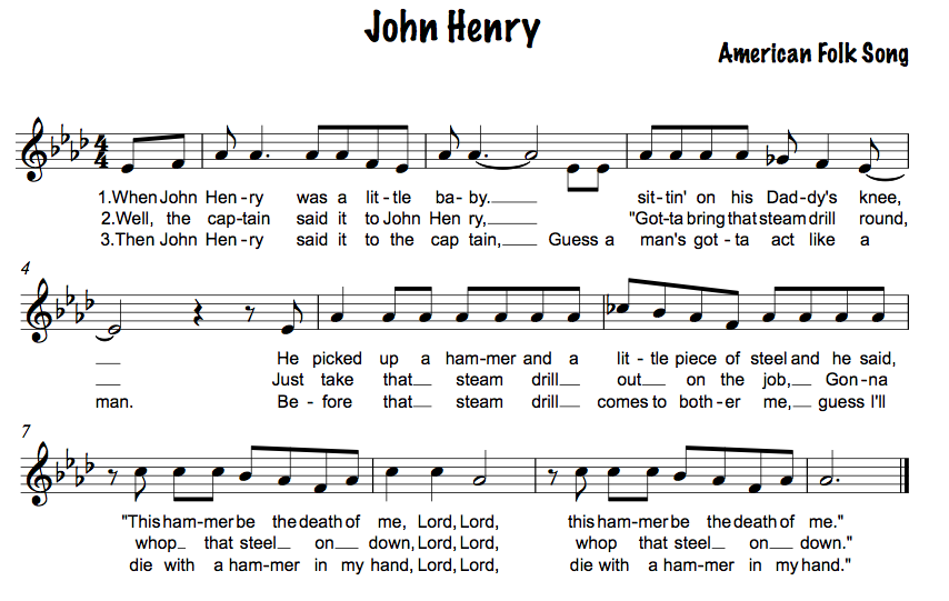 Worksheets John Henry Worksheets american folk songs technologi information john henry lesson ideas
