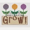 patchwork tulip cross stitch chart