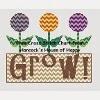 patchwork tulip cross stitch chart