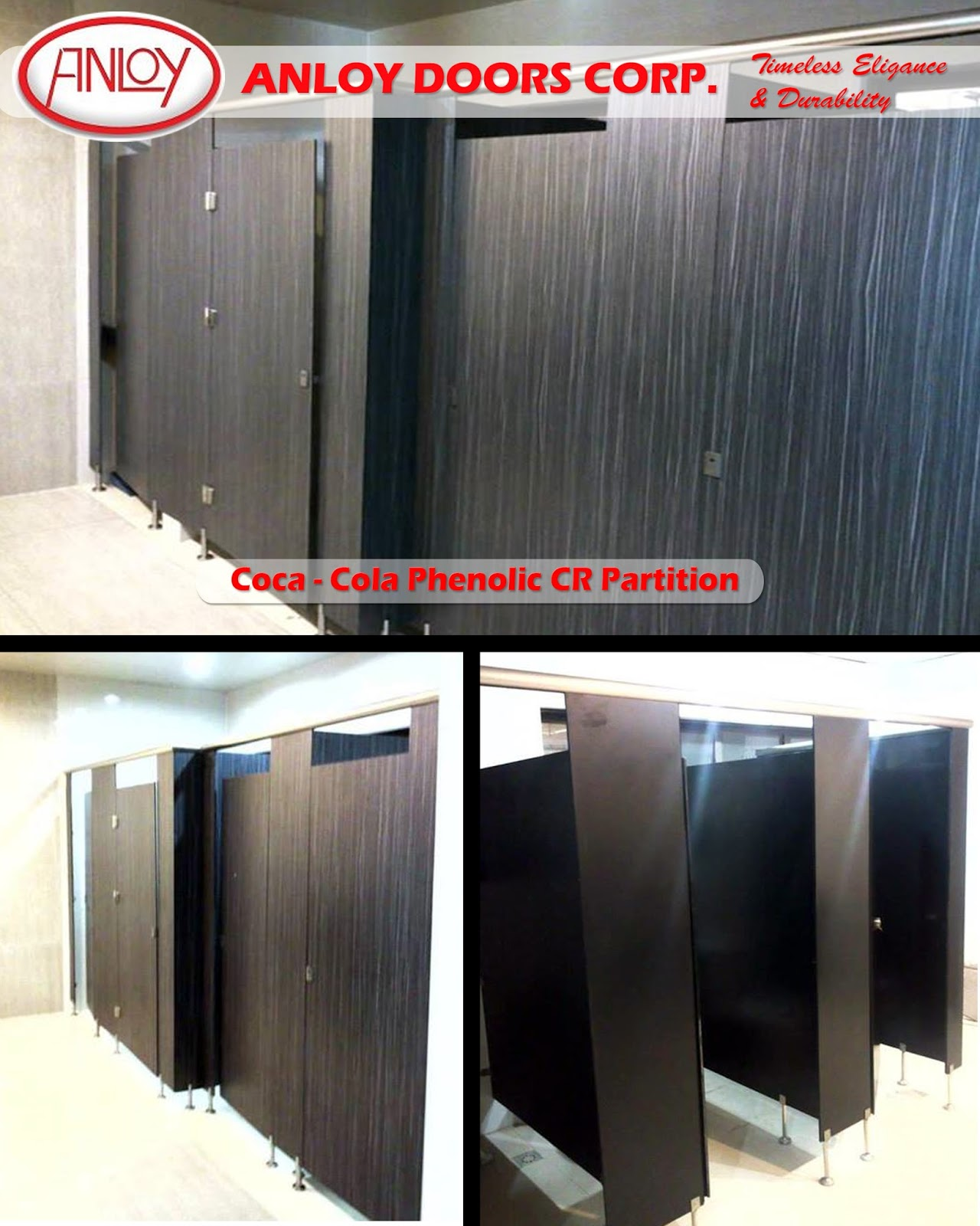 Phenolic CR and Cubicle Partition & Roll up Doors Bacolod - Anloy Doors Corporation