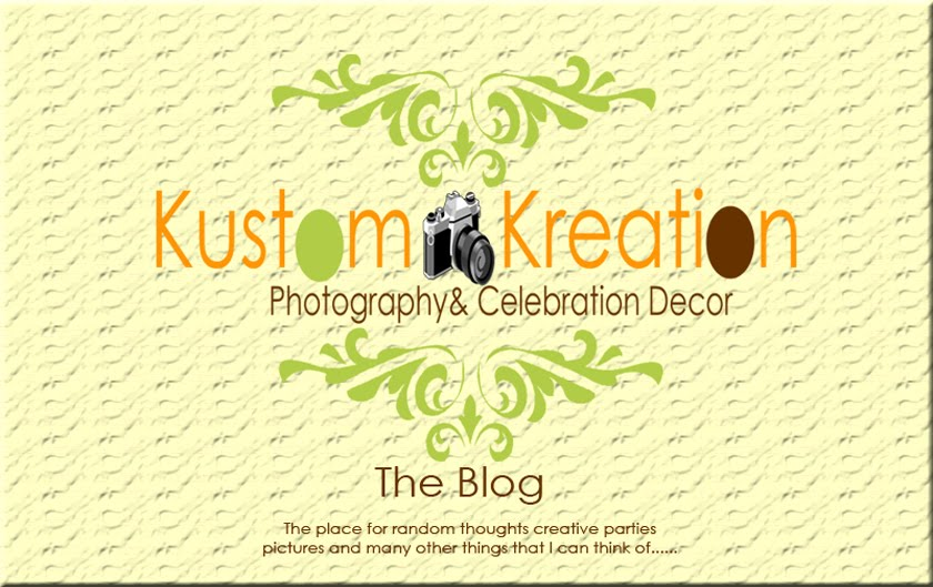 Kustom Kreations Phtography & Celebration Decor