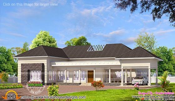 India bungalow exterior