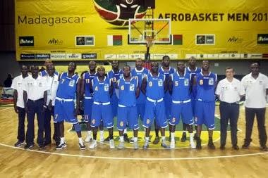 REP. CENTROAFRICA. 2011 Afrobasket Madagascar