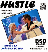HUSTLE EN BSD BAILAS SOCIAL DANCE MÁLAGA CENTRO.