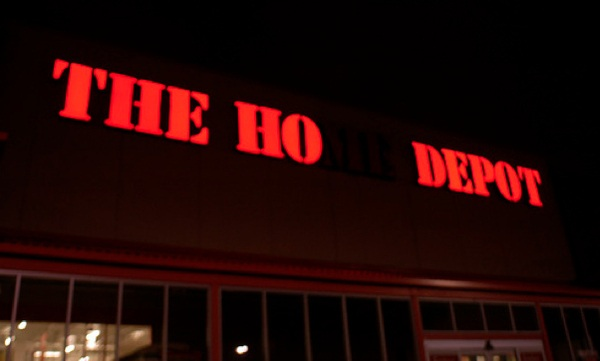 home depot neon sign fail