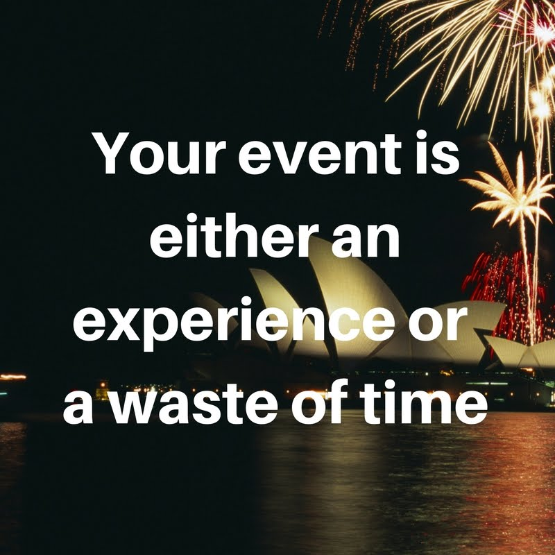 <br>Your Event is Either a Festival or a Funeral