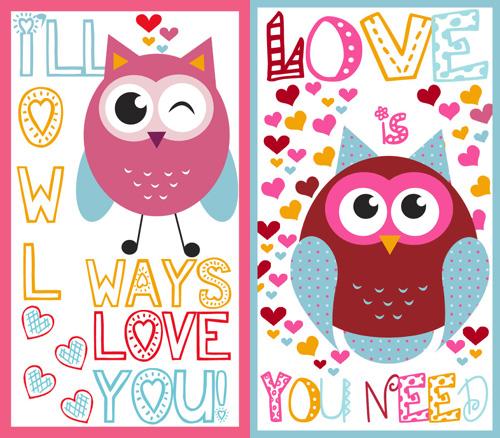 My owl barn cute valentine printables cute valentine printables voltagebd Images