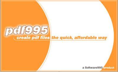 PDF995 Printer Driver 12.1