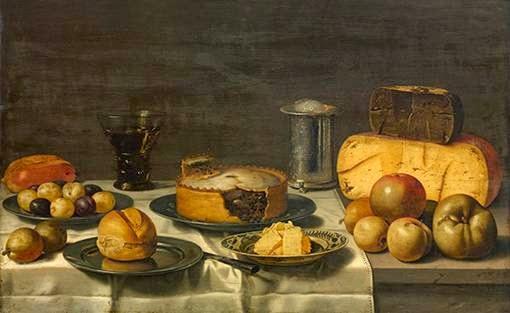 Floris van Schooten - Le petit déjeuner ( ontbijt )