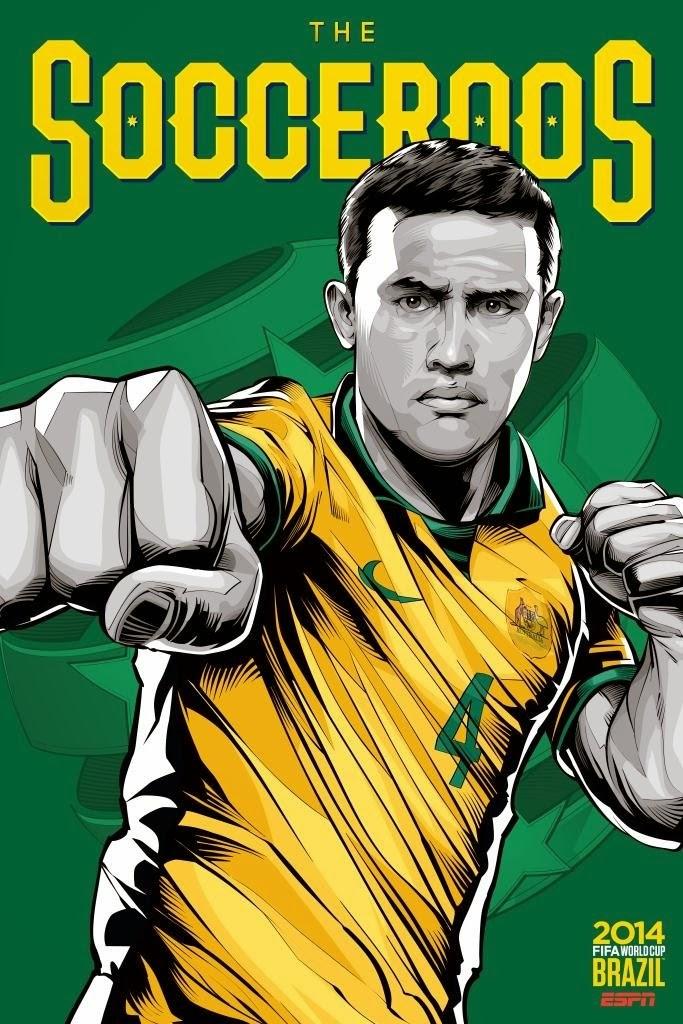 Australia Team FIFA 2014