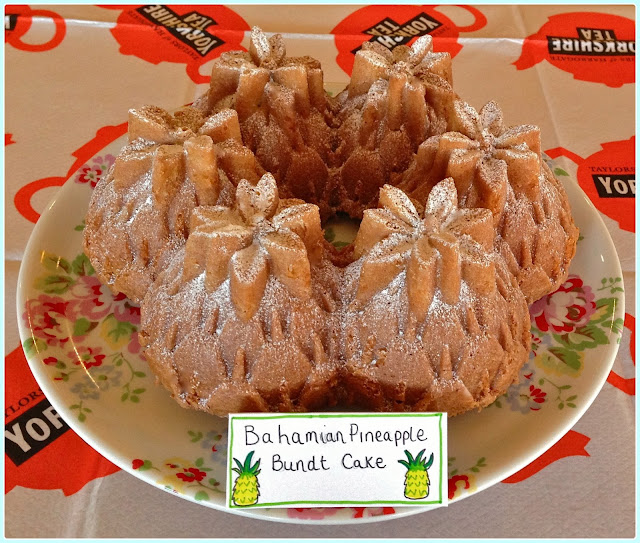 Pineapple Bundt Cake